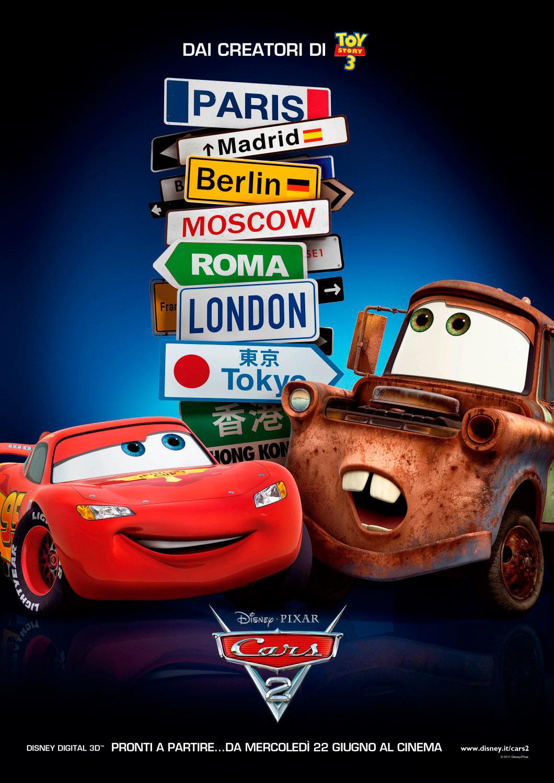 Cars 2 de John Lassetter y Brad Lewis