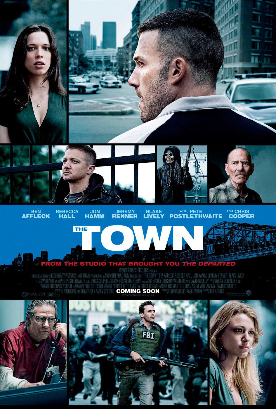 The town: ciudad de ladrones, de Ben Affleck