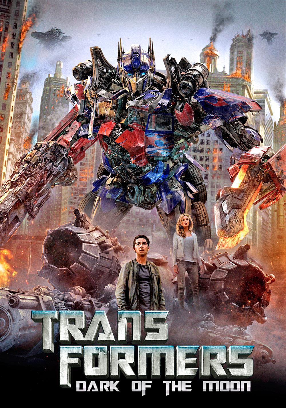 Transformers: El lado oscuro de la luna (Transformers: Dark of the Moon) de Michael Bay